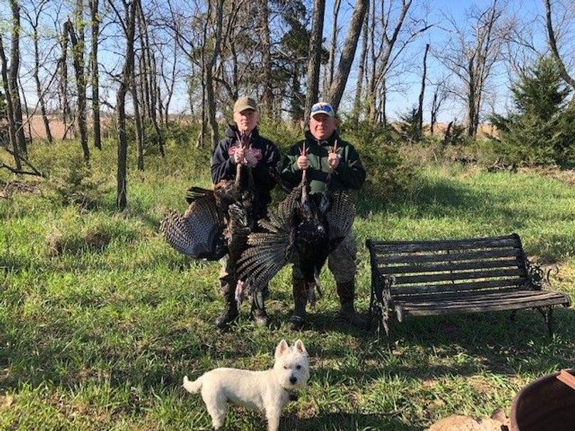 2020 turkeys (keith and braiden)