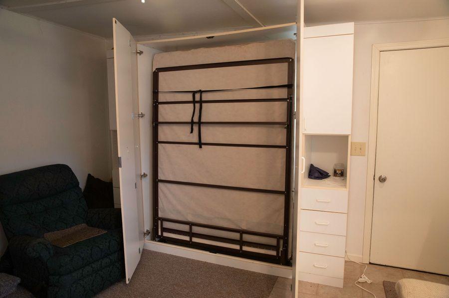 9 murphy bed in rear sitting area