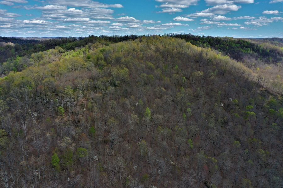021 different aerial views of the limestone outcroppings along the ridgetops
