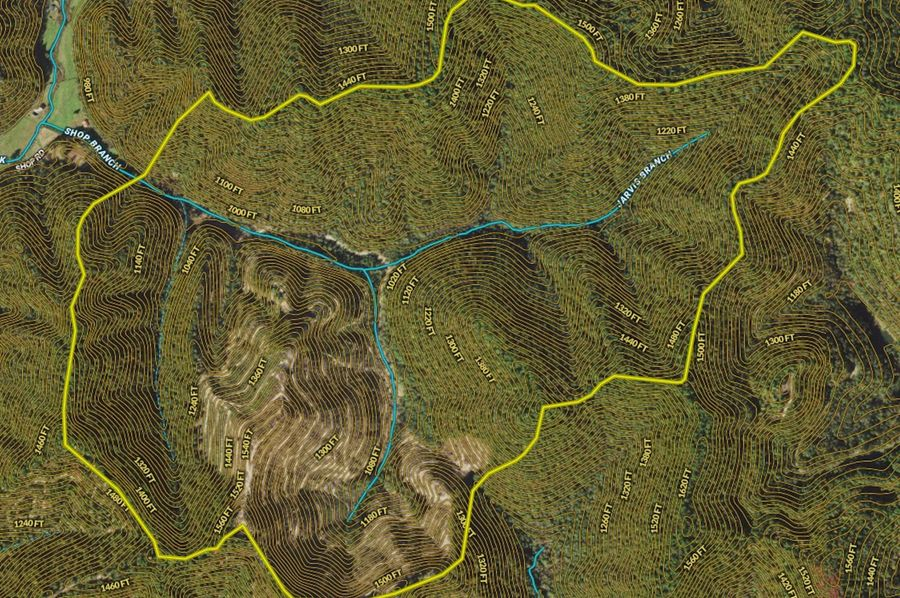 028 mapright zoomed in with contour lines