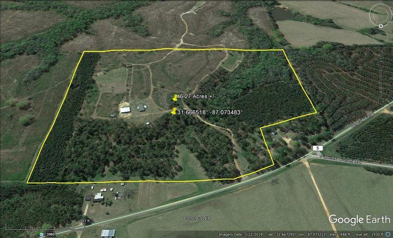 Aerial 4 approx. 46.27 acres conecuh county, al