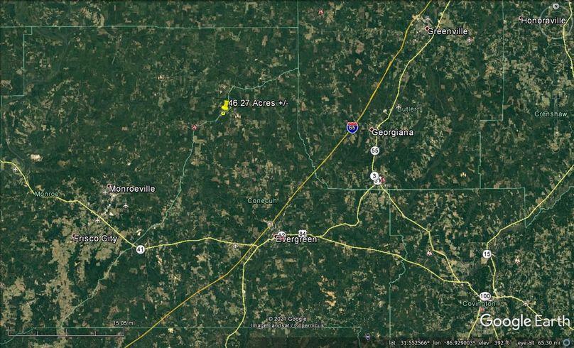 Aerial 7 approx. 46.27 acres conecuh county, al