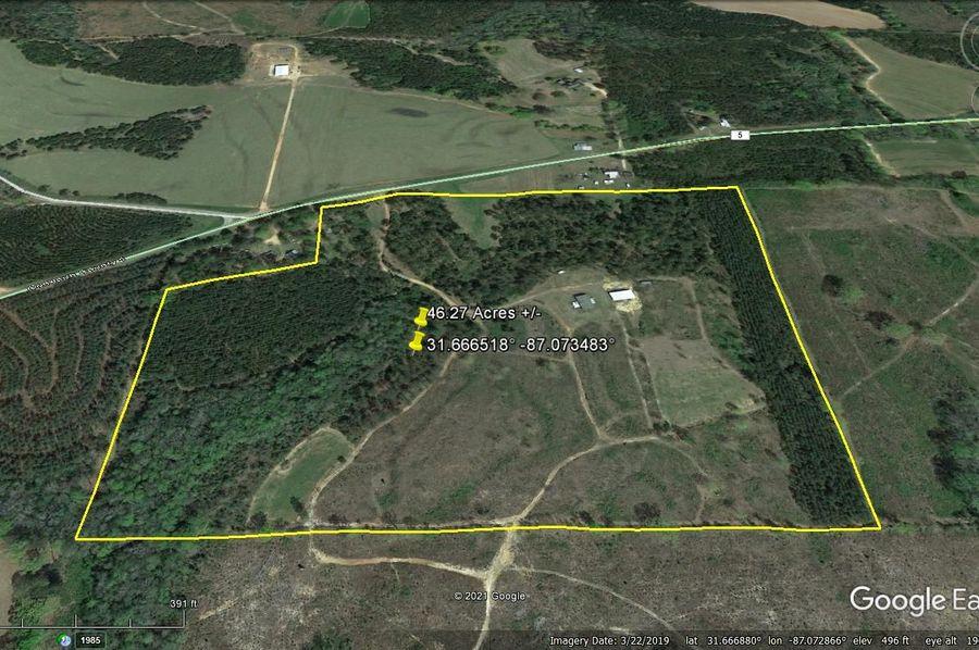 Aerial 2 approx. 46.27 acres conecuh county, al