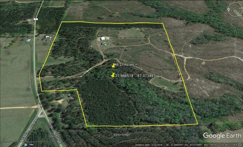 Aerial 3 approx. 46.27 acres conecuh county, al