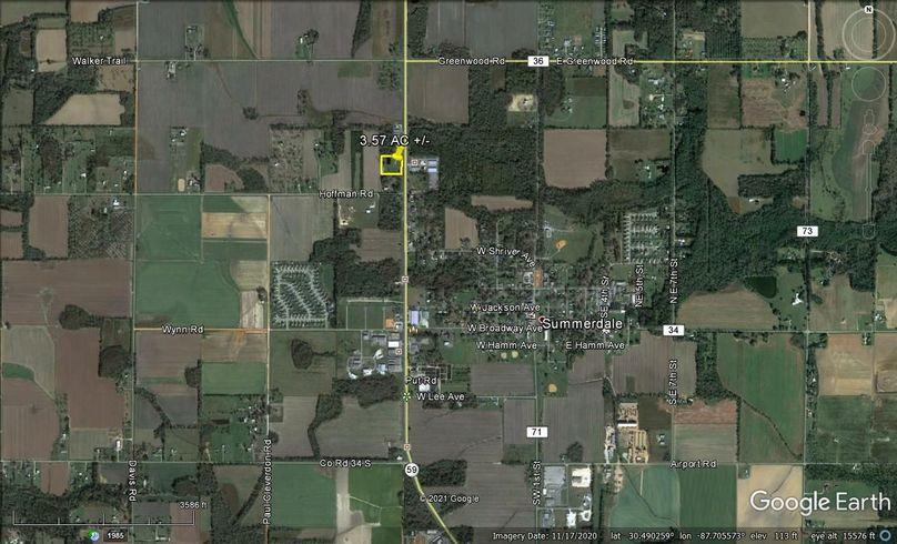 Aerial 4 approx. 3.57 acres baldwin county, al