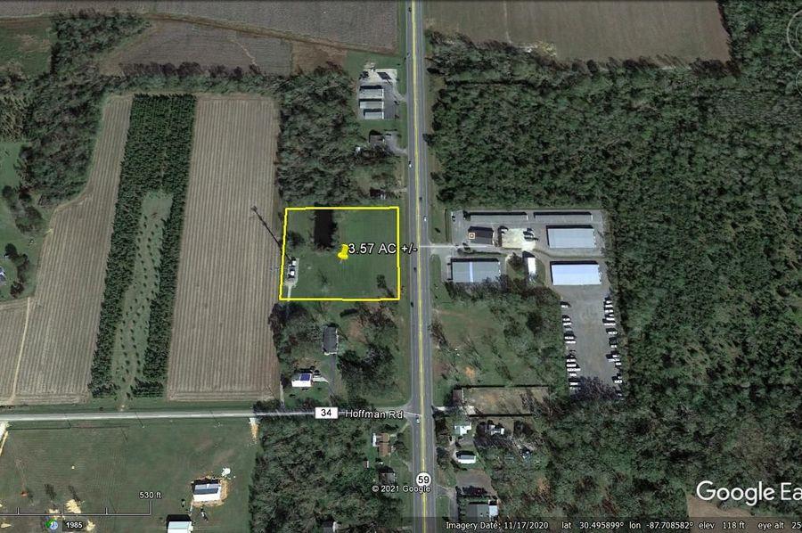 Aerial 3 approx. 3.57 acres baldwin county, al