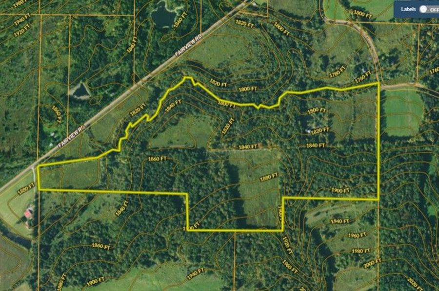 Map right topo