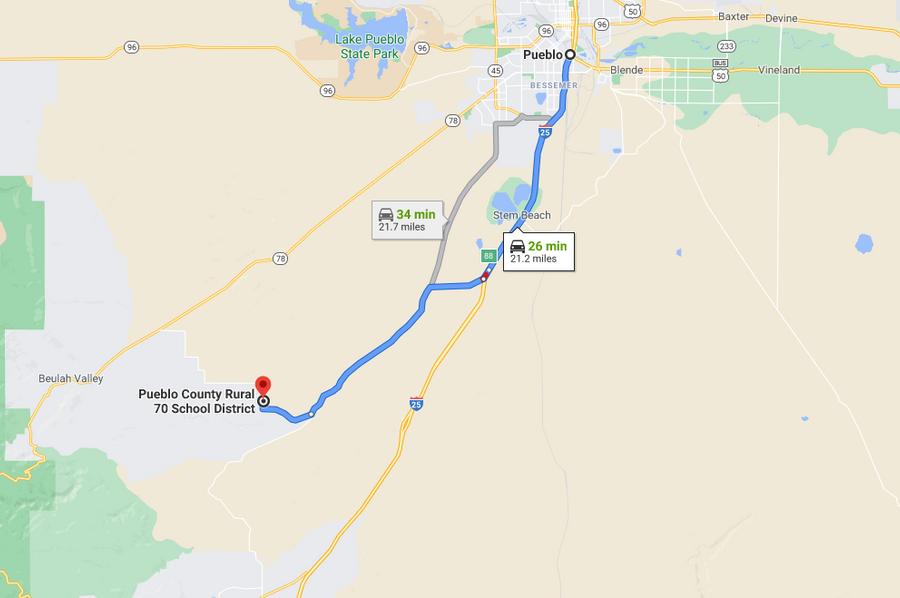 Pueblo 82 barrett directions to pueblo