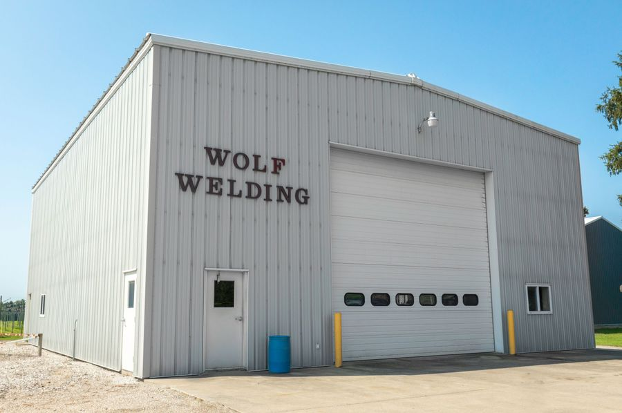 15 commercial welding shop with office space