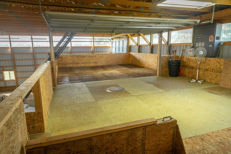 10 upper level dry bin in hops building