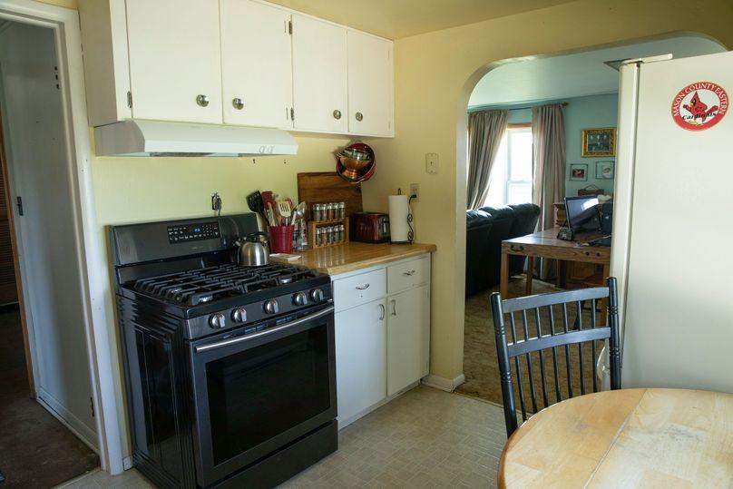 26 kitchen area in farm house
