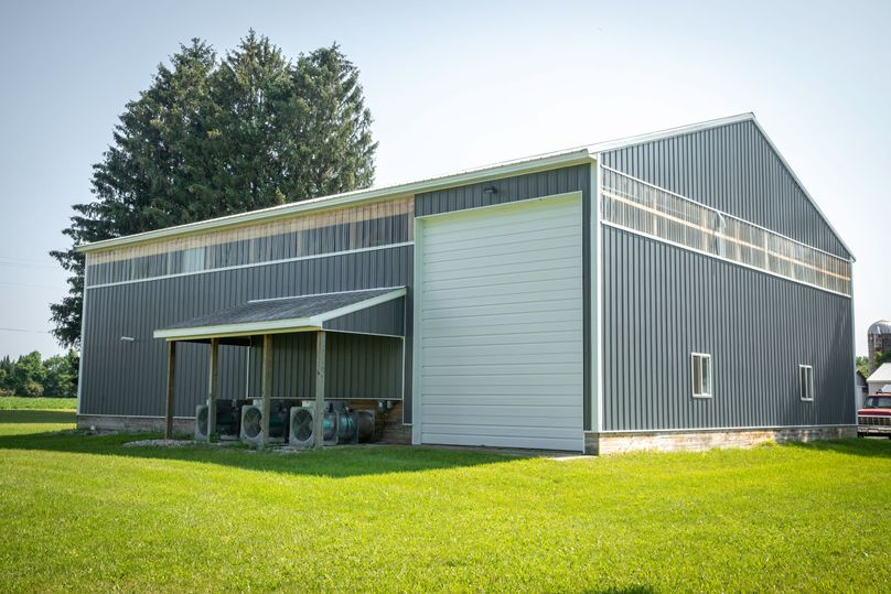 4 hops production and packaging building w  3 sukup lp dryers