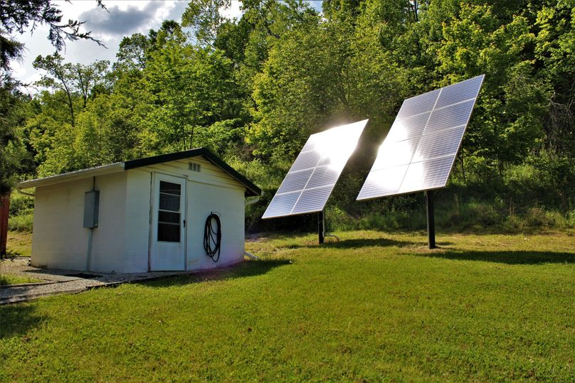 025 professionally designed solar system and storage shed