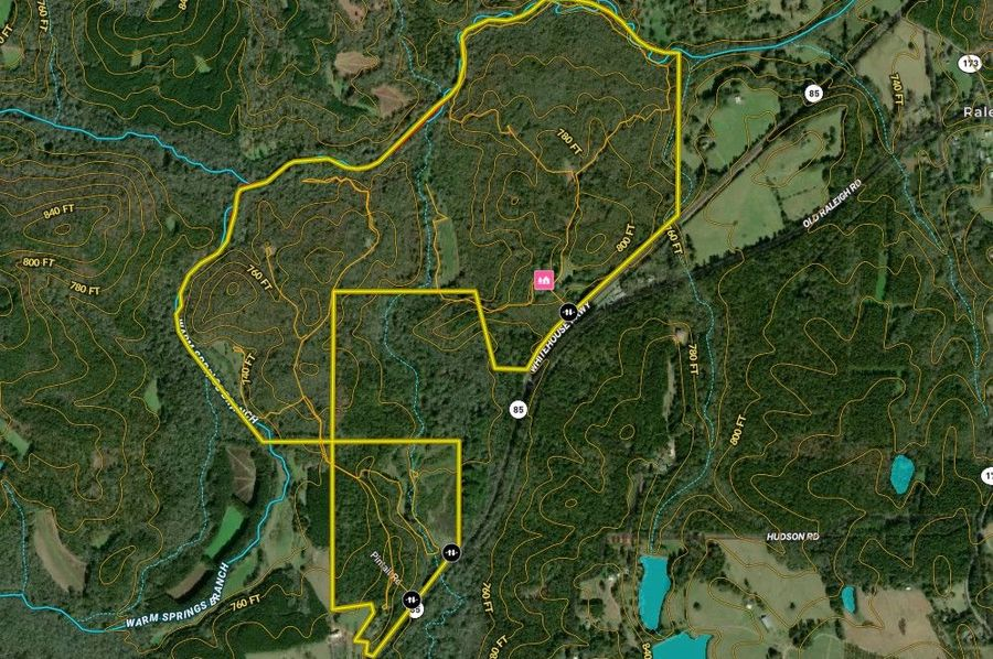 Meriwether county 384.85 acres map1