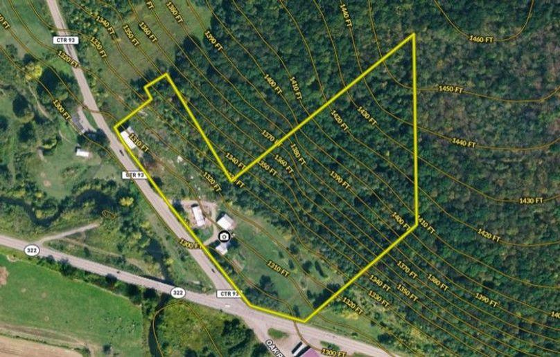 Miller (levi) 15 chautauqua map right topo