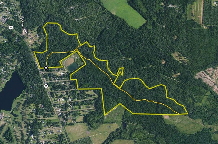 Pierce county 155.80 acres map