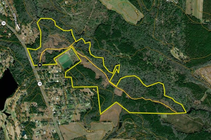 Pierce county 155.80 acres map1