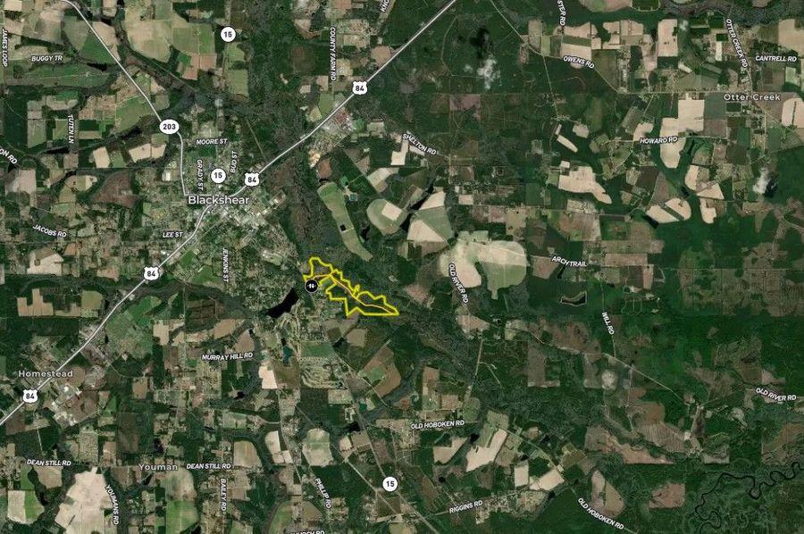 Pierce county 155.80 acres map2