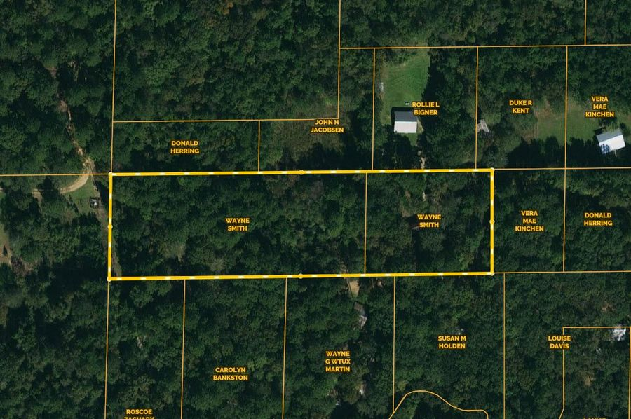 Ownership map on 3 ac. franklin co. ( bunkley rd.)