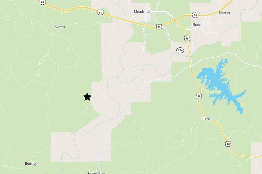 3 ac. franklin co. location map ( bunkley rd. )