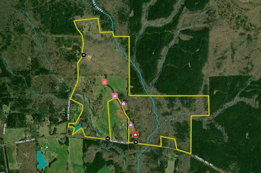 Harris county 274.74 acres map