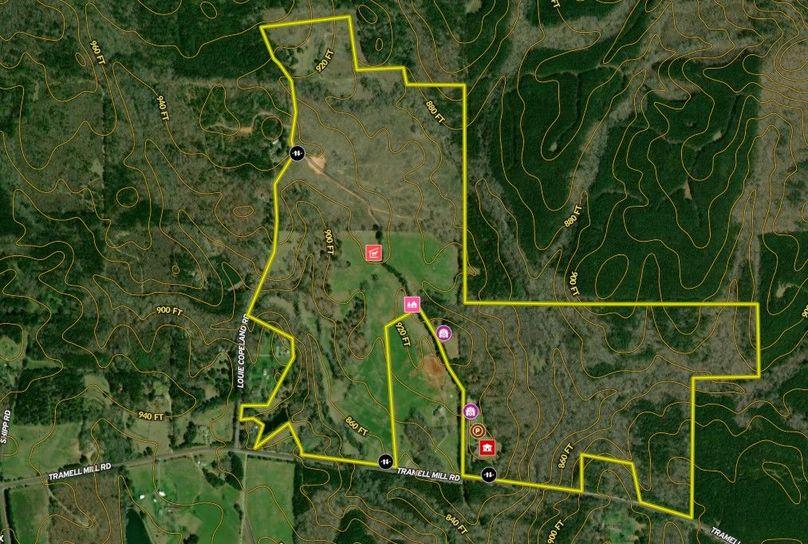 Harris county 274.74 acres map2
