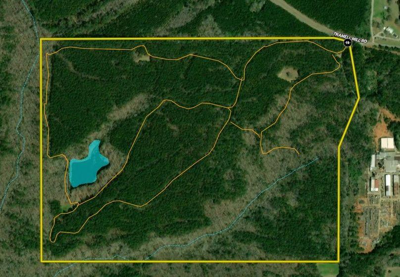 Harris county 148.31 acres map