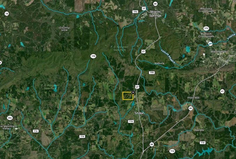 Harris county 148.31 acres map1