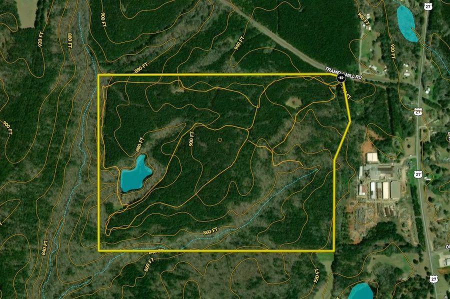 Harris county 148.31 acres map2
