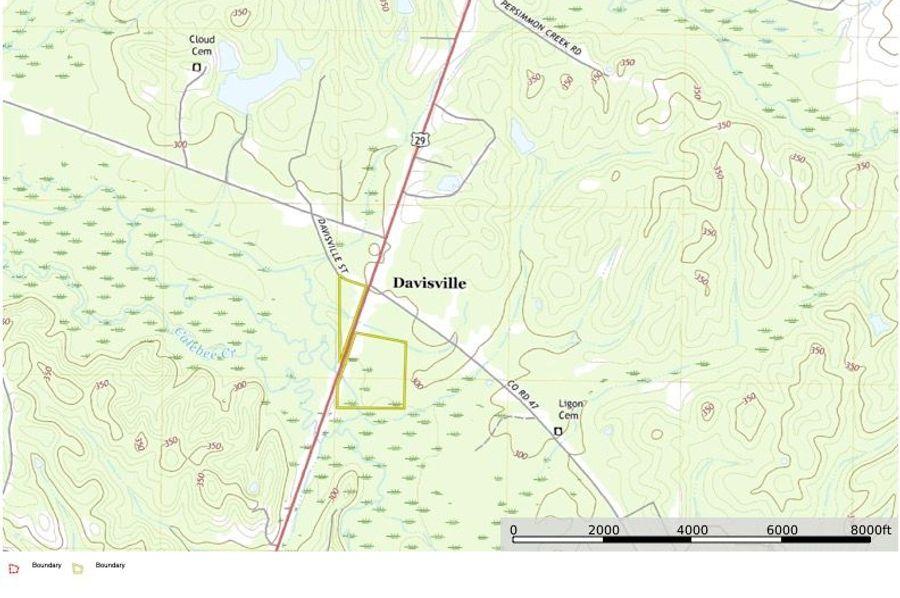Macon county 45.5 modern topo