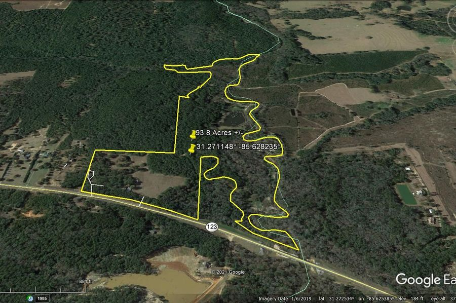 Aerial 5 approx. 93.8 acres houston county, al