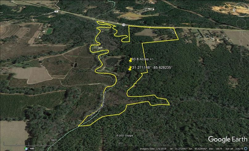 Aerial 3 approx. 93.8 acres houston county, al